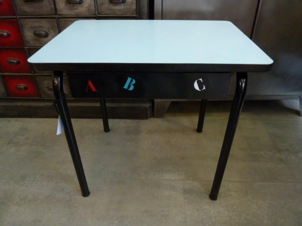 Bureau maternelle meubles industriel anna colore industriale