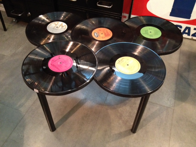 Meubles Table IndustrielAnna Colore Vinyle Industriale Basse Lq4jAR35