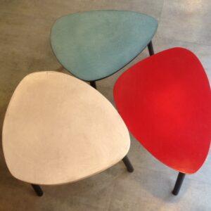 1 Table basse sur mesure tripode gigogne en béton ciré vintage annacoloreindustriale.com FullSizeRender 8