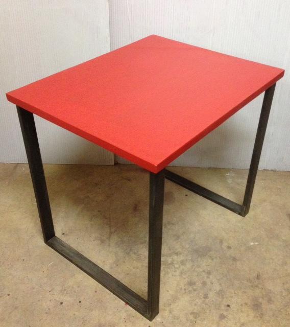 1 Table indus industriel sur mesure en béton ciré annacoloreindustriale.com FullSizeRender 7