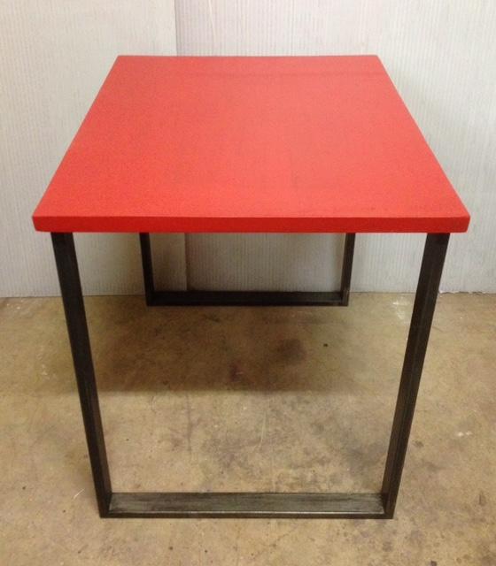 2 Table indus industriel sur mesure en béton ciré annacoloreindustriale.com FullSizeRender 2