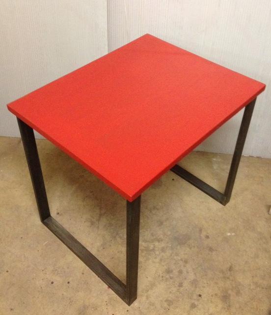 3 Table indus industriel sur mesure en béton ciré 10