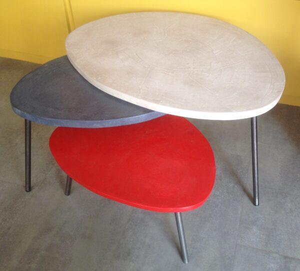 table basse gigogne tripode béton ciré mobilier industriel anna colore industriale-17