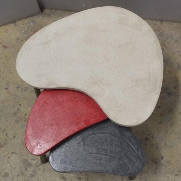 Table basse sur mesure en béton style vintage mobilier industriel Anna colore industriale 7 rue Paul Bert 75011 PARIS-22
