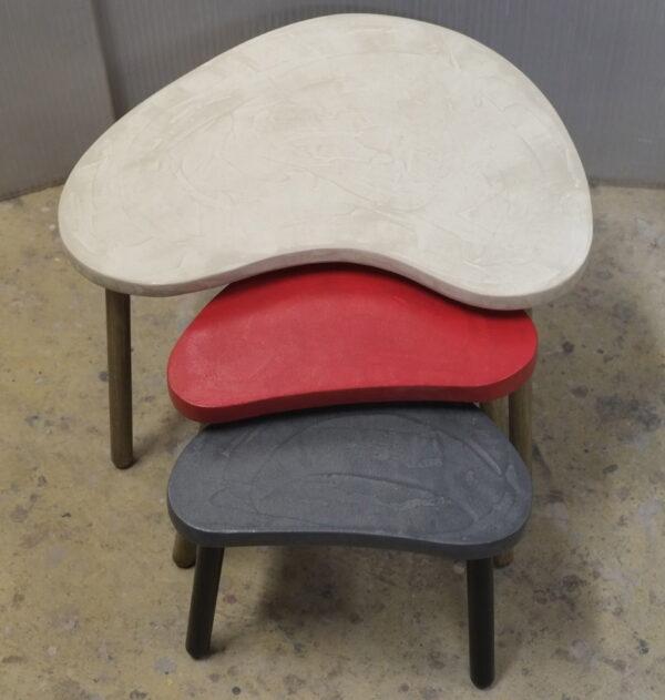 Table basse sur mesure en béton style vintage mobilier industriel Anna colore industriale 7 rue Paul Bert 75011 PARIS-4