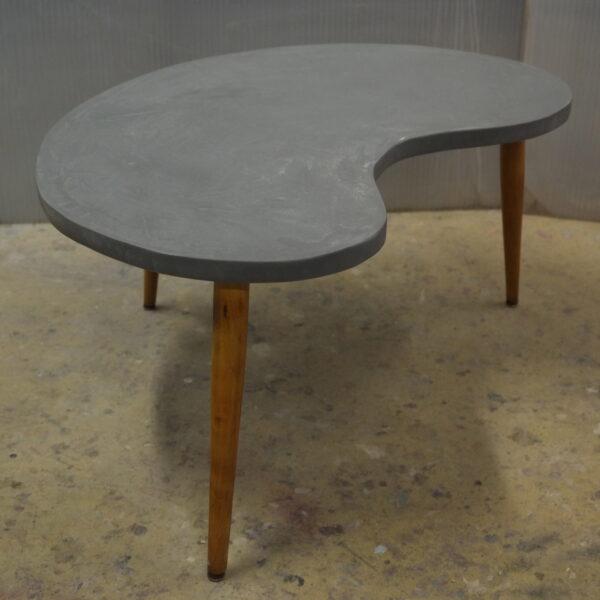 Table basse sur mesure en béton style vintage mobilier industriel Anna colore industriale 7 rue Paul Bert 75011 Paris-10