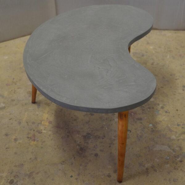 Table basse sur mesure en béton style vintage mobilier industriel Anna colore industriale 7 rue Paul Bert 75011 Paris-5