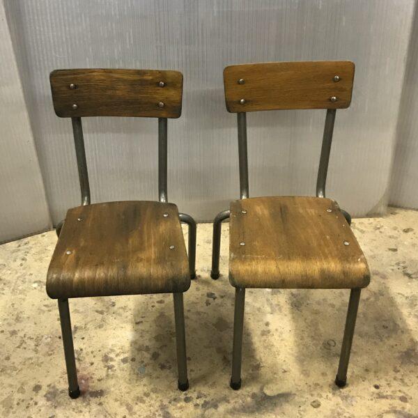 chaise d'ecole maternelle anciennes mobilier industriel meuble d usine chaise tolix ancienne chaise industrielle ancienne mobilier industriel ancien-1
