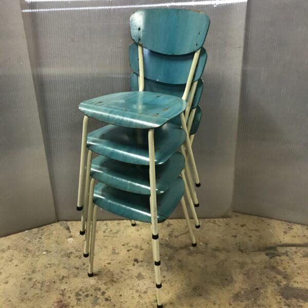chaises vintage ancienne chaises metal bois turquoise chaises formica mobilier industriel meuble d usine chaise tolix ancienne chaise industrielle ancienne mobilier industriel vintage -6