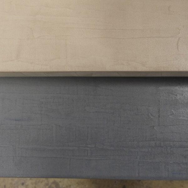 mobilier industriel table basse en béton sur mesure tables gigogne béton ciré design italien Anna Farina fabrication française meuble d usine mobilier industriel vintage-21