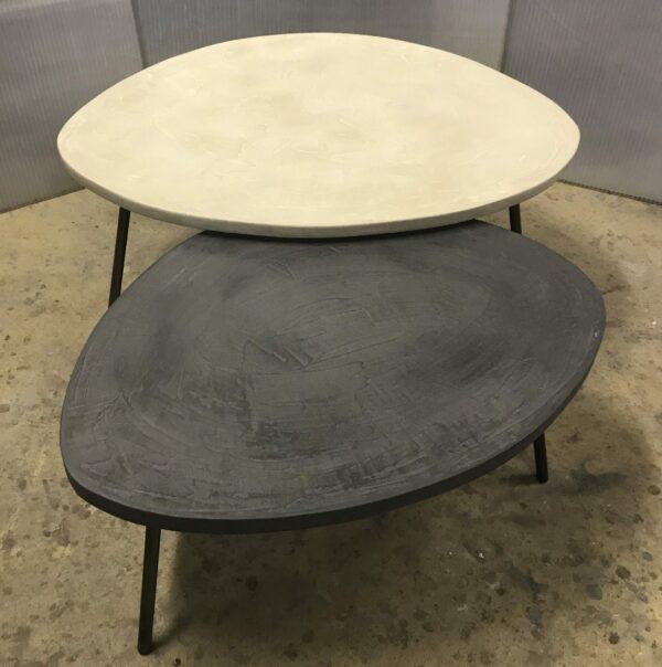 mobilier industriel table basse en béton sur mesure tables gigogne tables tripodes design italien fabrication française meuble d usine mobilier industriel vintage anna colore industriale -2