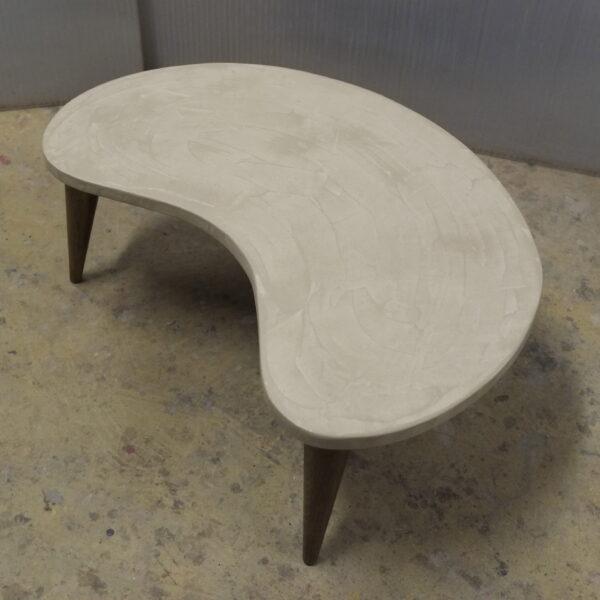 table basse sur mesure en béton style vintage mobilier industriel Anna colore industriale 7 rue Paul Bert 75011 PARIS-3