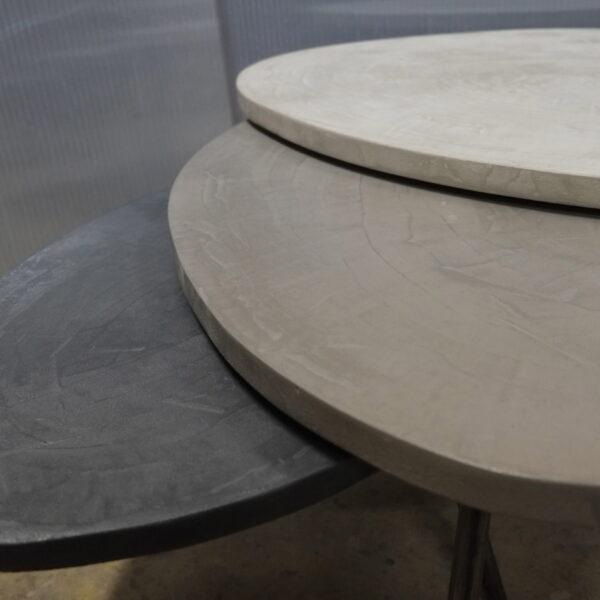 table basse en béton sur mesure tables gigogne tables tripodes design italien Anna Farina fabriqués à Paris mobilier industriel vintage Anna colore industriale-28