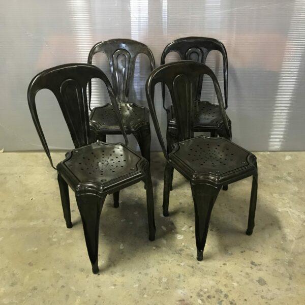 10-chaise Multipli's Joseph Mathieu Lyon 1922 chaise de bistrot mobilier industriel anna colore industriale