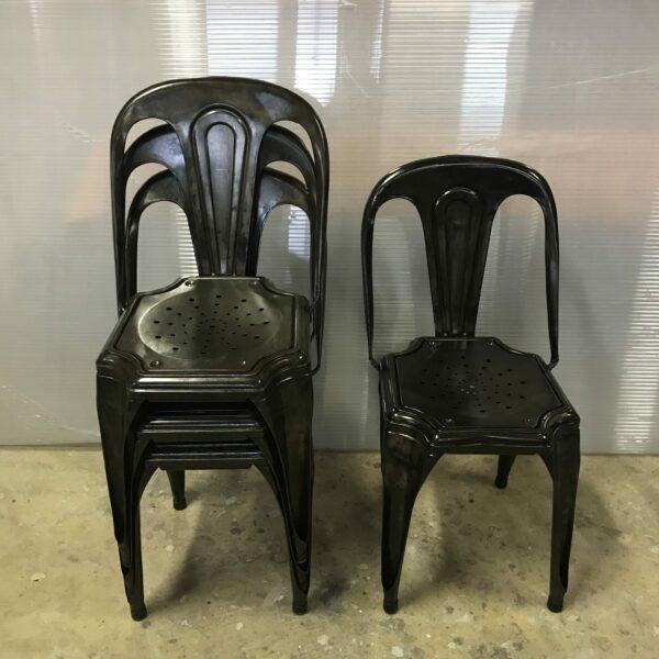 2-chaise Multipli's Joseph Mathieu Lyon 1922 chaise de bistrot mobilier industriel anna colore industriale