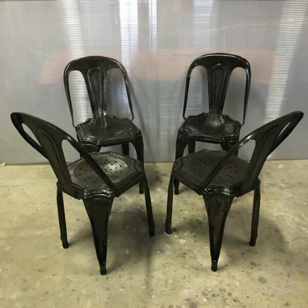 8-chaise Multipli's Joseph Mathieu Lyon 1922 chaise de bistrot mobilier industriel anna colore industriale