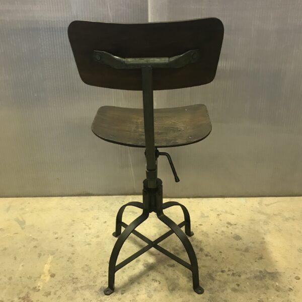 Chaise de metier Bienaise Anna colore industriale-10
