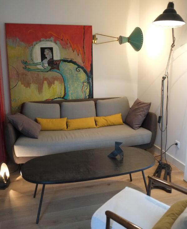 Table basse sur mesure en béton Design italen anna Farina fabrication artisanal piece unique ANNA COLORE INDUSTRIALE-38 2