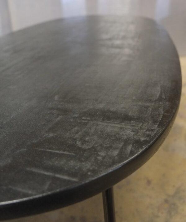 Table béton sur mesure DesignItalien Anna Farina fabrication artisanale pièce unique Anna Colore Industriale-78