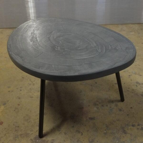 Table en béton sur mesure RUGIADA Design Italien Anna Farina fabrication artisanale Anna Colore Industriale-20