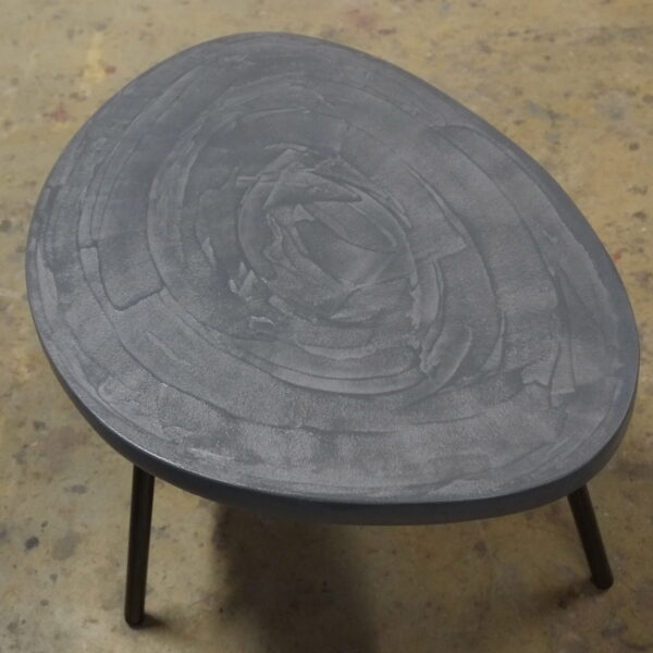 Table en béton sur mesure RUGIADA Design Italien Anna Farina fabrication artisanale Anna Colore Industriale-27