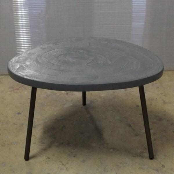 Table en béton sur mesure RUGIADA Design Italien Anna Farina fabrication artisanale Anna Colore Industriale-8