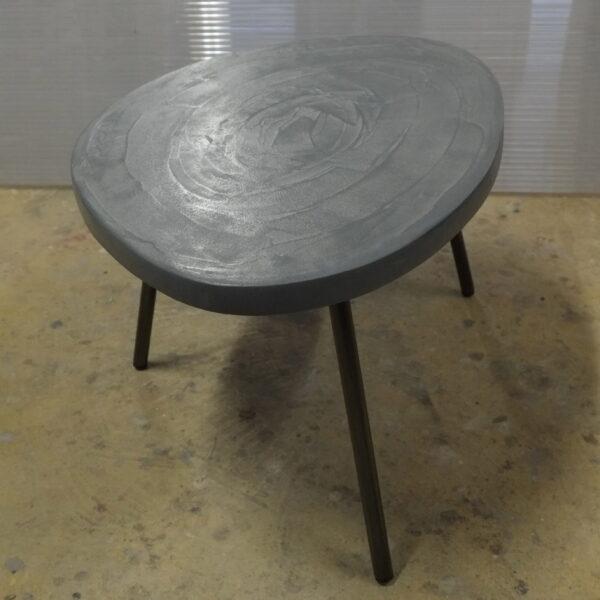 Table en béton sur mesure RUGIADA Design Italien Anna Farina fabrication artisanale Anna Colore Industriale-9