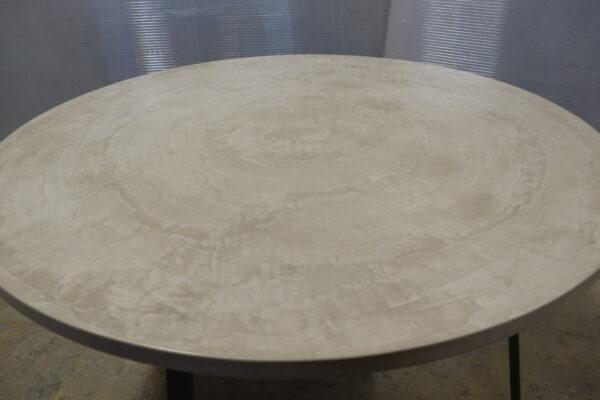 Table sur mesure en béton design italien Anna Farina Anna colore indusriale-16