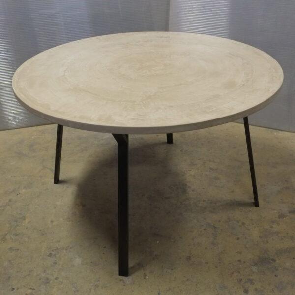 Table sur mesure en béton design italien Anna Farina Anna colore indusriale-3