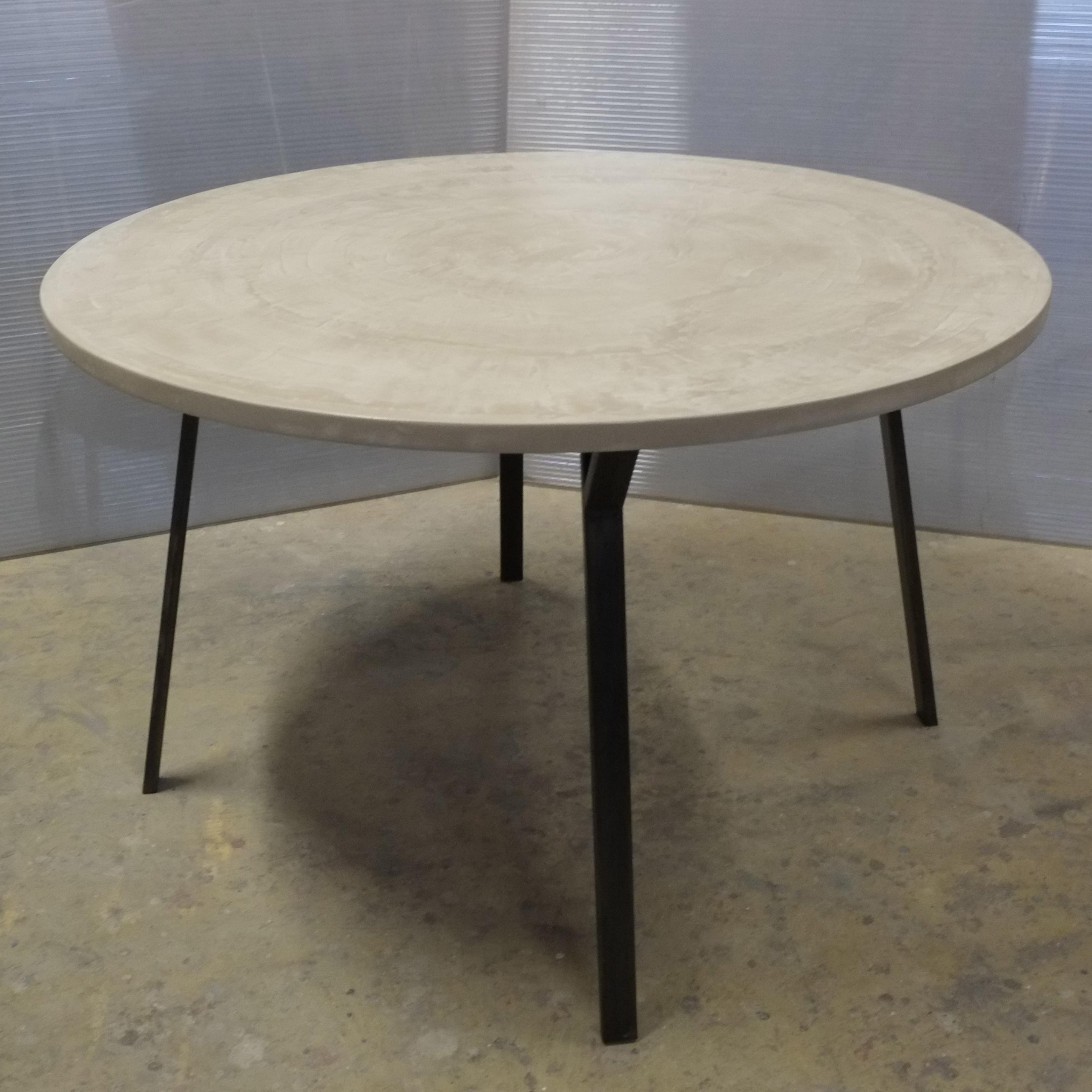 Table en béton sur mesure - Meubles industriel | Anna Colore Industriale
