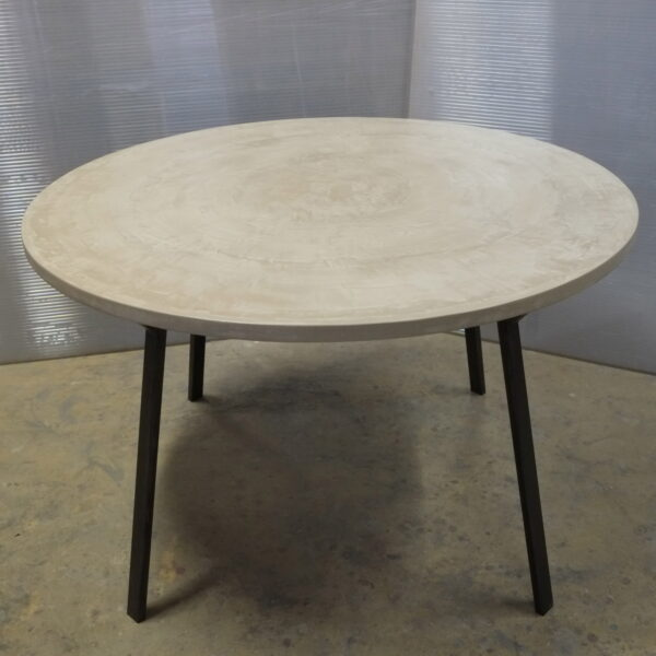 Table sur mesure en béton design italien Anna Farina Anna colore indusriale-48