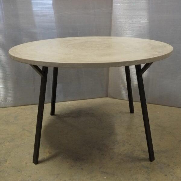 Table sur mesure en béton design italien Anna Farina Anna colore indusriale-59