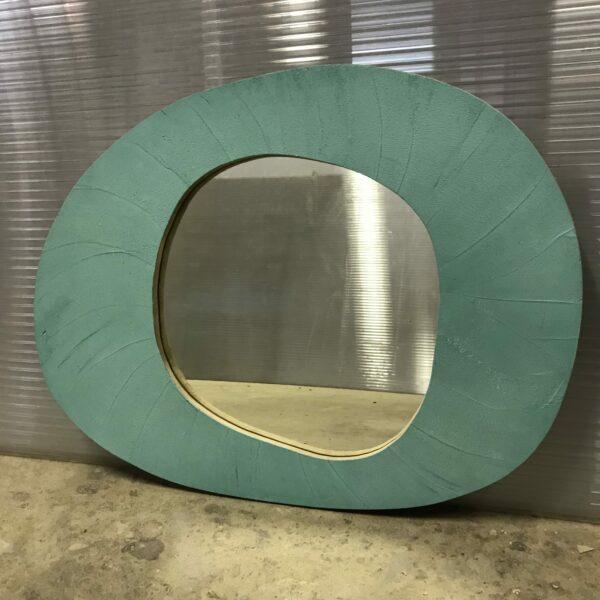 miroir en béton sur mesure MOBILIER INDUSTRIEL Design Italien Anna Farina fabrication artisanale piece unique ANNA COLORE INDUSTRIALE-43