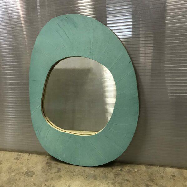 miroir en béton sur mesure MOBILIER INDUSTRIEL Design Italien Anna Farina fabrication artisanale piece unique ANNA COLORE INDUSTRIALE- 49
