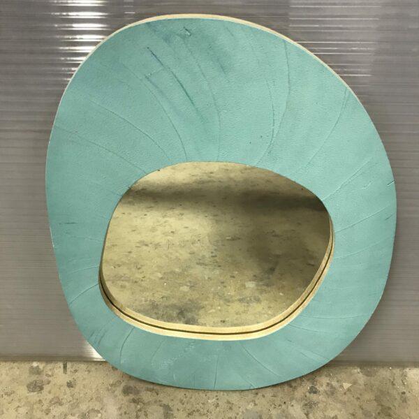 miroir en béton sur mesure MOBILIER INDUSTRIEL Design Italien Anna Farina fabrication artisanale piece unique ANNA COLORE INDUSTRIALE-52