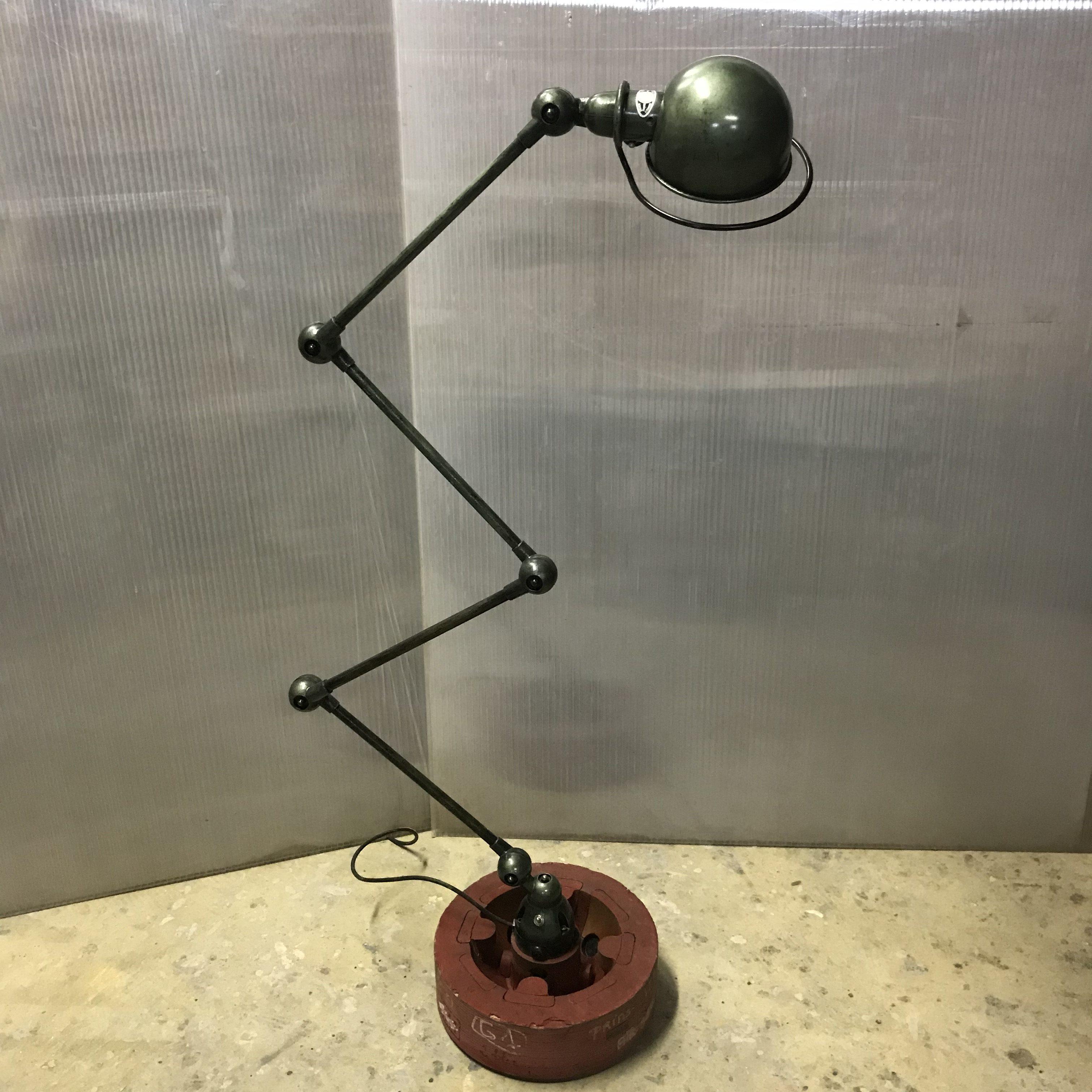 lampe industrielle jld 4 bras - meubles industriel | anna colore