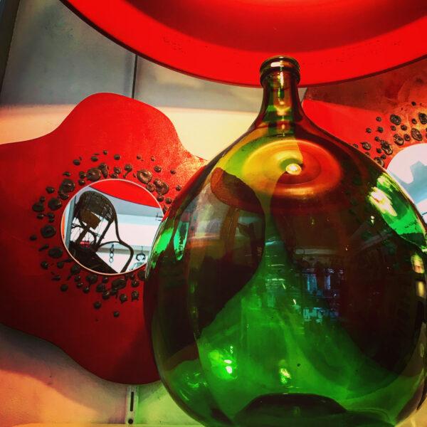 Dame-jeanne bonbonne bouteille verre vintage MOBILIER INDUSTRIEL ANNA COLORE INDUSTRIALEB3420D76-C5C9-4FFC-8AAE-32C4DC04BA48