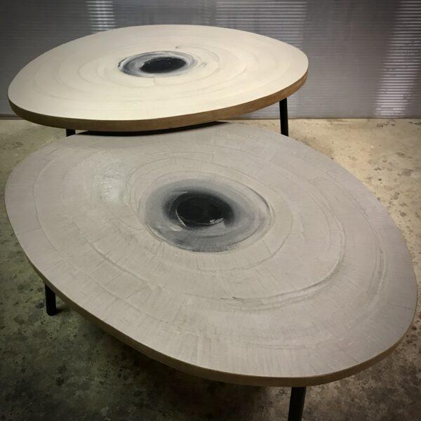 Table basse en BETON sur mesure Rugiada MOBILIER INDUSTRIEL Design Italien Anna Farina fabrication artisanale Anna Colore Industriale-15