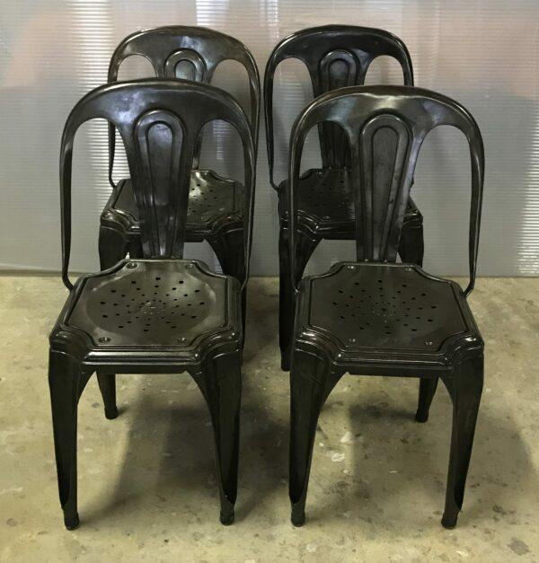 5-chaise Multipli's Joseph Mathieu Lyon 1922 chaise de bistrot mobilier industriel anna colore industriale