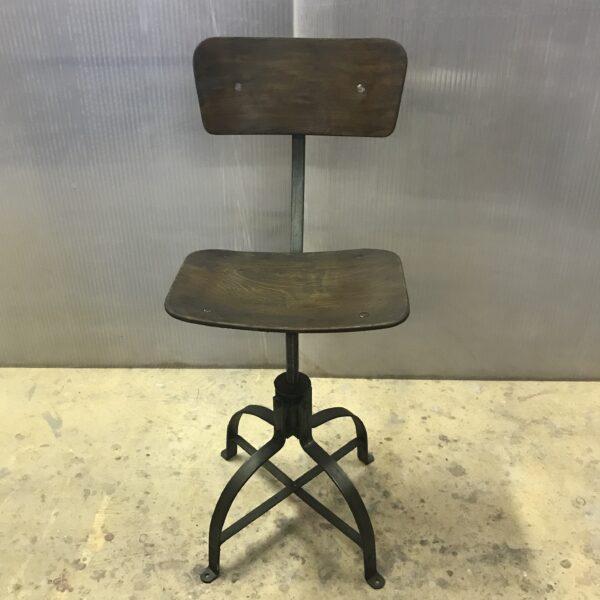 Chaise de metier Bienaise Anna colore industriale-8