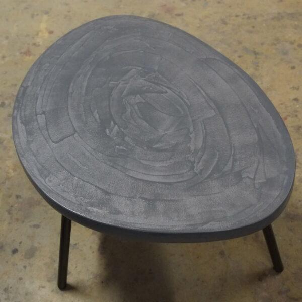 Table en béton sur mesure RUGIADA Design Italien Anna Farina fabrication artisanale Anna Colore Industriale-27