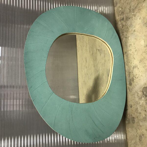 miroir en béton sur mesure MOBILIER INDUSTRIEL Design Italien Anna Farina fabrication artisanale piece unique ANNA COLORE INDUSTRIALE-40