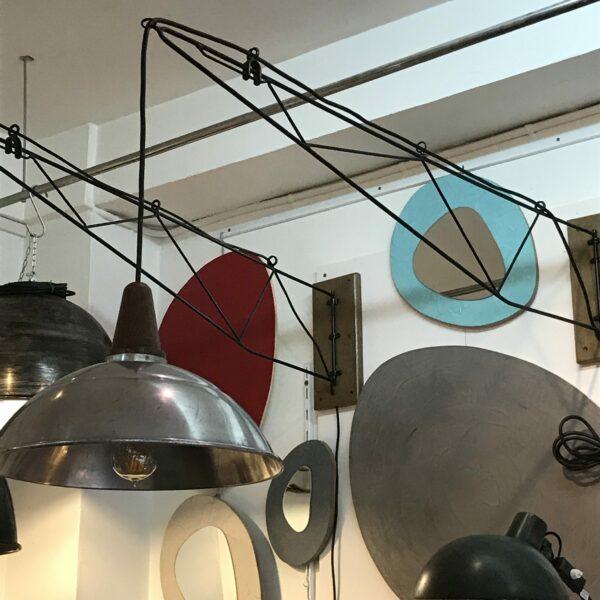 Lampe industrielle murale grand bras articulé pivotant MOBILIER INDUSTRIEL ANNA COLORE INDUSTRIALE-14