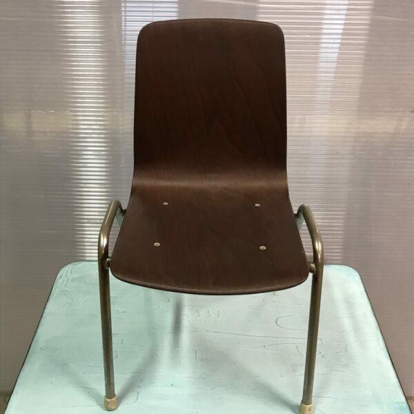Petite chaise enfant Pagholz Flötoto années 60 style scandinave bois MOBILIER INDUSTRIEL ANNA COLORE INDUSTRIALE-1