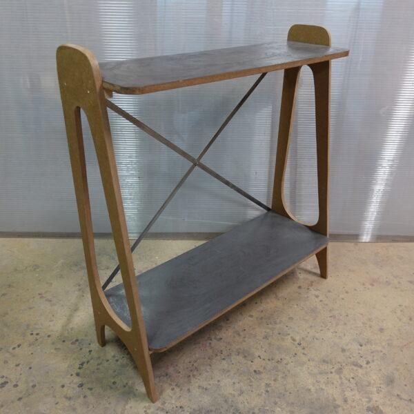 CONSOLE ETAGERE BÉTON BOIS sur mesure SHELF CONCRETE furniture craft créations MOBILIER INDUSTRIEL Design ITALIEN ANNA FARINA fabrication artisanale ANNA COLORE INDUSTRIALE-21