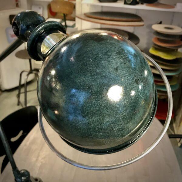 Lampe industriel Jieldé DEUX BRAS JIELDÉ 1951 Domecq Jean-Louis MOBILIER INDUSTRIEL ANNA COLORE INDUSTRIALE-2